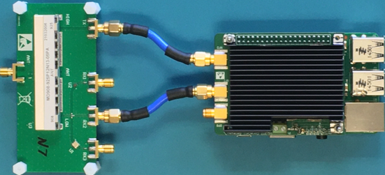 Complete reference design with ceramic duplexer