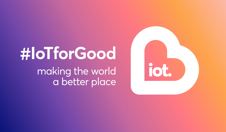 #IoTforGood Banner Image