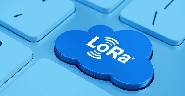 LoRa Cloud keyboard button